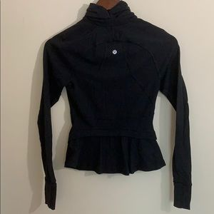 Lululemon Hustle In Your Bustle Jacket Black 2 EUC
